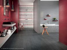 Arty: Wall design plaster look - Bord: Floor design wood look