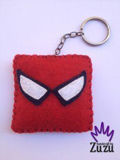 - Spider Man -  İsteğe göre her renk yapılır! Can make any color by request! (7cmx6.5cm)