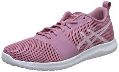 Asics Women's Kanmei Mx Running Shoes, Pink Running Wear, Pink Running Shoes, Fitness Wear Women, Asics Women, Workout Wear, Trainers, Adidas Sneakers, Heels, How To Wear