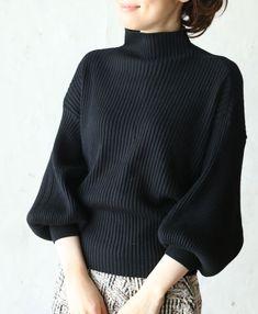 Black sweater.