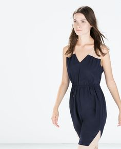 Image 1 of COLOR BLOCK DRESS WITH BELT from Zara