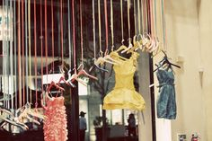 Sunny Fiona Design: Anthro store display