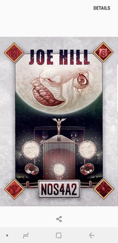 Nos4a2, Movie Posters, Movies, Art, Drawings, Art Background, Films, Film Poster, Kunst