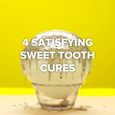 4 Satisfying Sweet Tooth Cures, my fave is the aquarium cookies Pinning for -Super easy suckers! Did you actually watch till the end Sweet tooth ideas An amazing easy way to make chocolate bowls! Does Metabolic Cooking Really Work. Mhhhh yes plz New Nails Easy Desserts, Delicious Desserts, Dessert Recipes, Cute Food, Good Food, Yummy Food, Food Crafts, Diy Food, Diy Crafts
