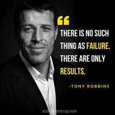 Inspirational Tony Robbins Quotes on Success – MindBootstrap - Bildung Success Quotes And Sayings, Motivational Quotes For Success, Leadership Quotes, Positive Quotes, Inspirational Quotes, Career Quotes, Work Quotes, Quotes Dream, Life Quotes Love