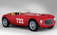 1948 Ferrari 166 Inter Spyder Corsa by Carrozzeria Fontana