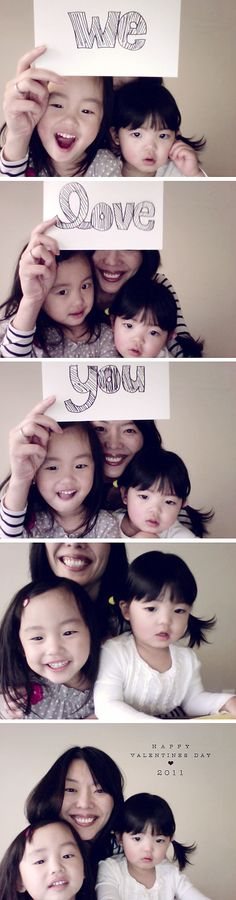 Photobooth photos how to and free template by paislee press