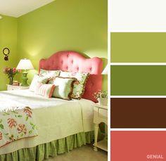 20 Combinaciones de colores perfectas para tu recámara - MamásLatinas