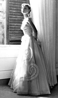 Audrey Hepburn, 1950s.