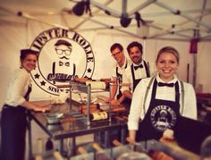 I LOVE these guys.. Hipster Rolle are a mobile set up based in Germany. They use our Gas grill 8 as well as our unique recipe and method to make and bake great tasting kurtoskalacs.