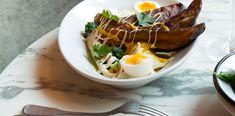 Falafels, Shawarma, Tzatziki, Paris Restaurants, Eggs, Breakfast, Food, Eggplant Fries, Dates