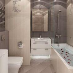 Чудесная ванная :) #ИнтерьерДекор_Санузел