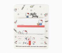 Hello Kitty Sticky Flags: Enjoy