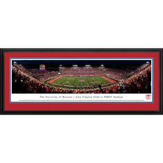 Worldwide Houston Cougars Football - 50 Yd Line - Blakeway Panoramas Framed Print