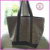 Tuto sac cabas style V.B - Cousettes by-iaoraNanou
