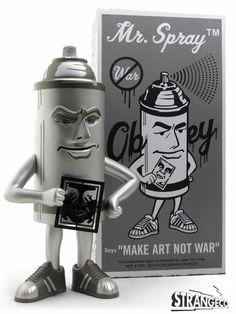 Mr. Spray (Designed by Shepard Fairey)