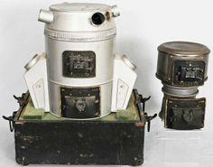 RARE 1930's Vintage Machine Age Holland Furnace Salesman's Sample in Case | eBay