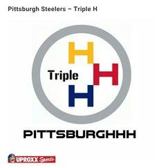 NFL/WWE LOGO: Pittsburghhh