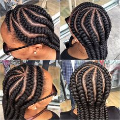 feed in braids - Google Search