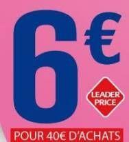 Bon De Reduction Leader Price Bon De Reduction Reduction Jeu Concours