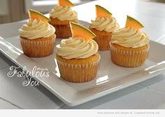 Fabulous You: Cantaloupe Cupcakes