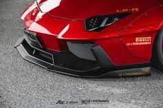 https://flic.kr/p/JYet73 | Bloody Red Liberty Walk Lamborghini Aventador LP700 with Fi Exhaust