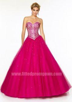 2015 Mori Lee 97125 Jeweled Beading Sweetheart Ball Gown