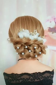 Elegant Hairstyle - New Site Easy Hairstyles For Long Hair, Braided Hairstyles, Cool Hairstyles, Easy Elegant Hairstyles, Wedding Hairstyles, Hairstyles Videos, Hair Up Styles, Natural Hair Styles, Hair Tutorials For Medium Hair