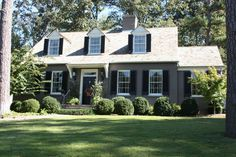 Atlanta Cape traditional exterior
