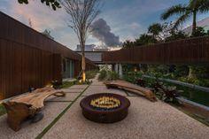 A Miami Beach Home with a Swimmable Lagoon - Design Milk