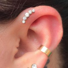 — Healed forward helix with a prium cluster from...