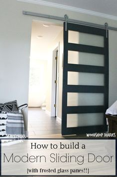 Interior barn doors contemporary frosted glass barn Molding How To Build Diy Modern Sliding Door Pinterest 257 Best Modern Sliding Doors Images Sliding Door Sliding Doors