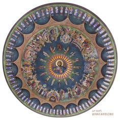 Mihail Alivizakis – icoana Byzantine Icons, Byzantine Art, Church Icon, File Image, Art Icon, Orthodox Icons, Decorative Bowls, Christ, My Arts
