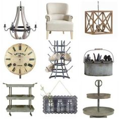 Farmhouse Style Products for sale!  the fabulous look at Vintage American Home!