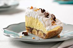 Peanut Butter-Chocolate Banana Cream Pie recipe