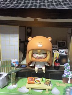 Umaru nendoroid from Himouto Umaru chan anime