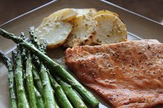 The Classy Kitchen: Grilled Teriyaki Salmon and Asparagus