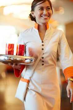 23 best housekeeping uniform hotels images housekeeping for Spa uniform dubai