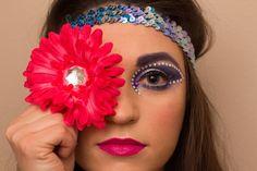 Ideas de maquillaje rave - http://www.guiamaquillaje.com/ideas-de-maquillaje-rave.html