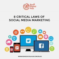 Properly utilizing the power of content and social media marketing can help elevate your target market and customer base in a dramatic and healthy way.  Be that as it may, beginning with no preceding experience or  understanding could could be difficult. Read our blog post on 8 laws you can abide in to get the best of your social media game!  Link in Bio 😃