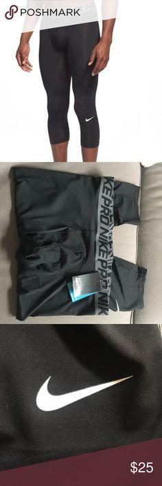 Nike Pro men's 3/4 training tights Nike Pro men's 3/4 training tights size XXL. Brand new with tags! Nike Underwear & Socks