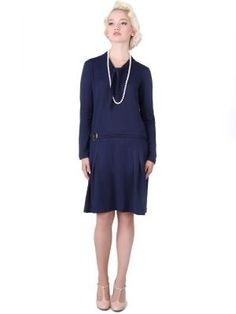 Collectif Frances knit dress | Jurken | Miss Vintage | Retro, vintage geïnspireerde dames kleding