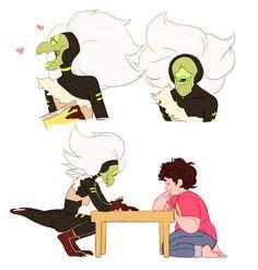 Steven and Centipeetle