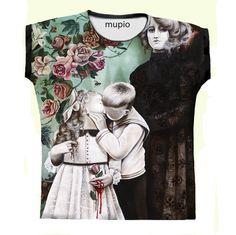 T-shirt Mupio by Artysta i Sztuka  Available here: mupio.pl/  designer: Marta Julia Piórko  #mupio