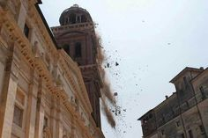 Community unites to rebuild clock tower destroyed by earthquake - Emilia-Romagna - Italy - The Art Newspaper