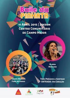 """Campomaiornews: """"Baile da Pinhata"""" em Campo Maior dia 11 no Centro..."""