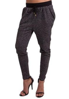 Body Central Hacci Marled Jogger