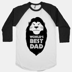 The best dad's are kings of the Pride Rock and know how to explain the circle of life. This awesome gift is for all the great Dads out there young enough to know how awesome it is to be compared to Mufasa.