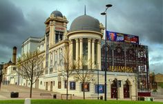 Bradford Alhambra, 100 years old via Bradford England, Rise From The Ashes, Cinema Theatre, Dream City, West Yorkshire, Industrial Revolution, New Pictures, 19th Century, Taj Mahal