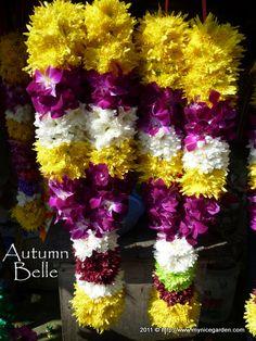 Indian Wdding Garlands | ... at Little India Klang - Part 2 Flower Garlands and Bermuda Grass